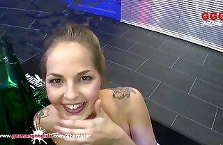 Be in charge Cute Bibi gets her Indiscretion lip with Cum – German Goo Girls