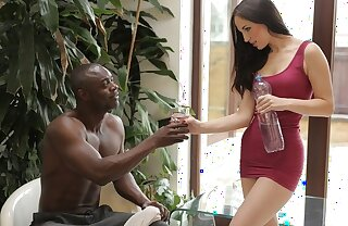 BLACK4K. Babe has fun with black athlete who nails her covetous hole