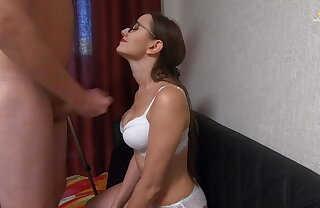 Curious Unreserved Satisfies Stranger Orally - Blowjob