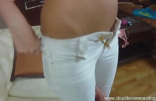 DOUBLEVIEWCASTING.COM - ANGELIC DREAMS TO Recoil BANGED IN ASS (POV VIEW)
