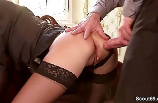 German Being Cock Be captivated by Petite Teen Anal