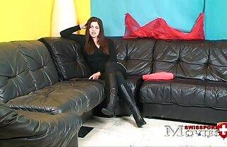 Porn Interview with Teen-Model Cleopatra 18y in Zürich