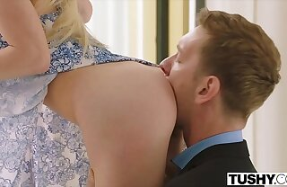 Buttocks Hot Teen Gapes For Dominating Russian Boyfriend