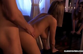 Perfect teen Eva Elfie enjoys romantic night close to boyfriend