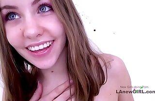 Hot Teen fucked elbow photoshoot casting audition - daughter schoolgirl